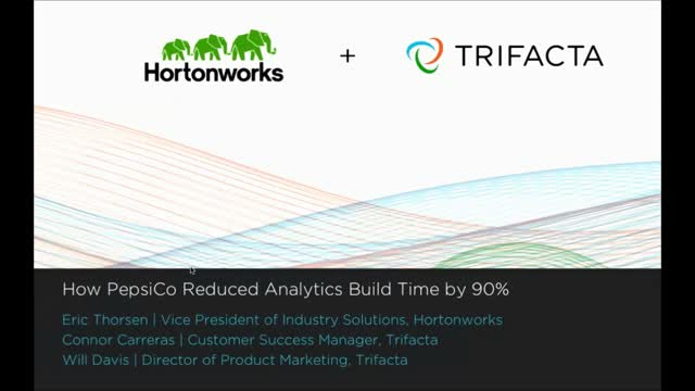 How PepsiCo Reduced Analytics Build Time by 90%