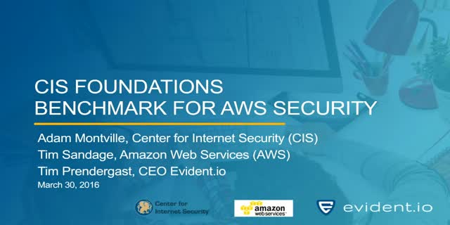 CIS Foundations Benchmark for AWS Security