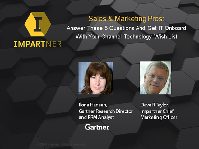 Sales/Marketing Pros: 5 Ways to Get IT Onboard With Your Channel Tech Wish List