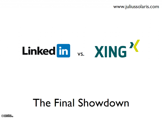 Linkedin vs Xing: The Final Showdown