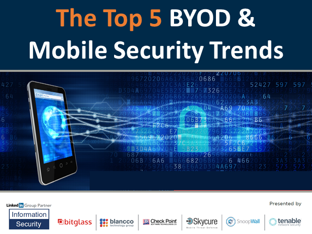 Top 5 BYOD & Mobile Security Trends in 2016