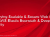 Deploying Scalable & Secure Web Apps with AWS Elastic Beanstalk & Deep Security