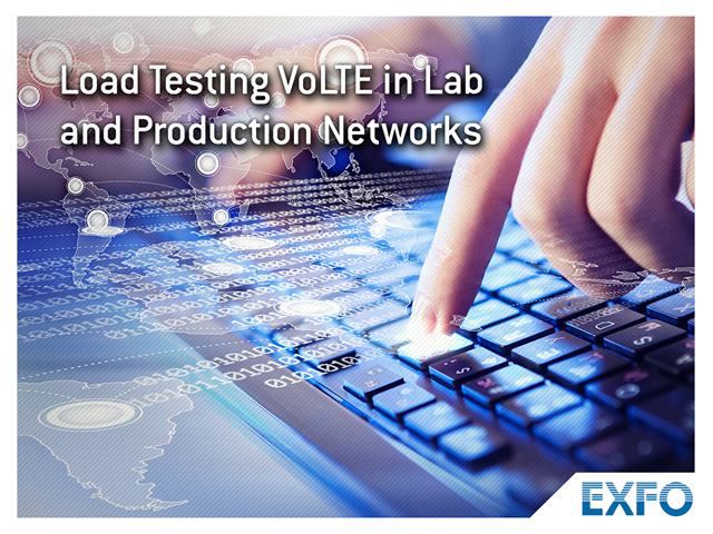 Load Testing VoLTE in Lab and Production Networks