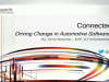 Connected Cars: Driving Change in Automotive Software Security