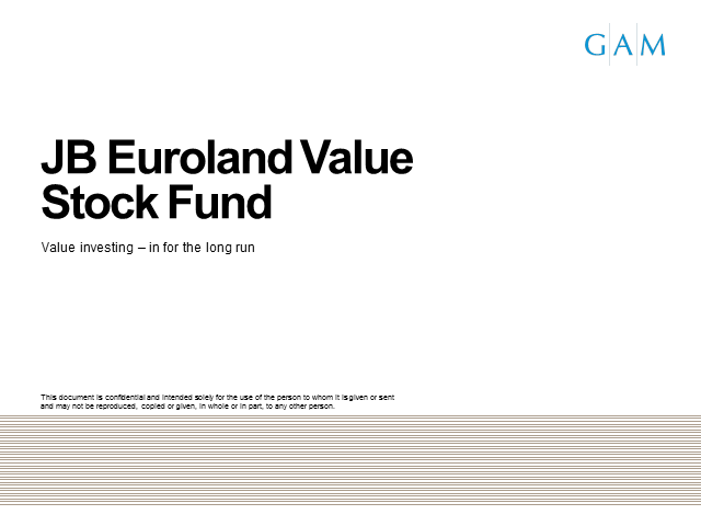 JB Euroland Value Stock Fund