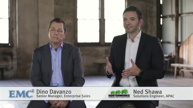 EMC and Hortonworks: Starting your big data journey