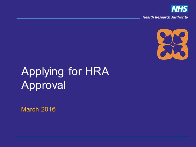 HRA Approval - what is it and how do I apply?