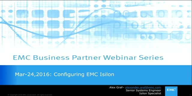 EMC Business Partner: Usage & Best Practices on The EMC Isilon Sizing Tool