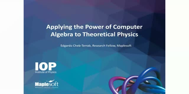 Applying the power of computer algebra to theoretical physics