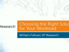 Choosing the Right Solution for your Workload: A Webinar with 451 Research