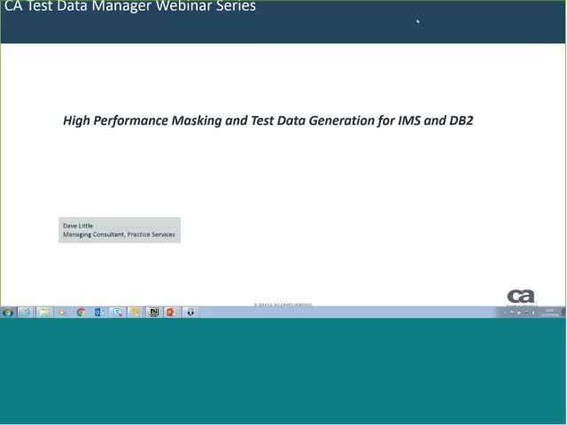 High Performance Masking and Test Data Generation for IMS and DB2
