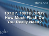 10TB? 100TB? 1PB? How much Flash do you really need?