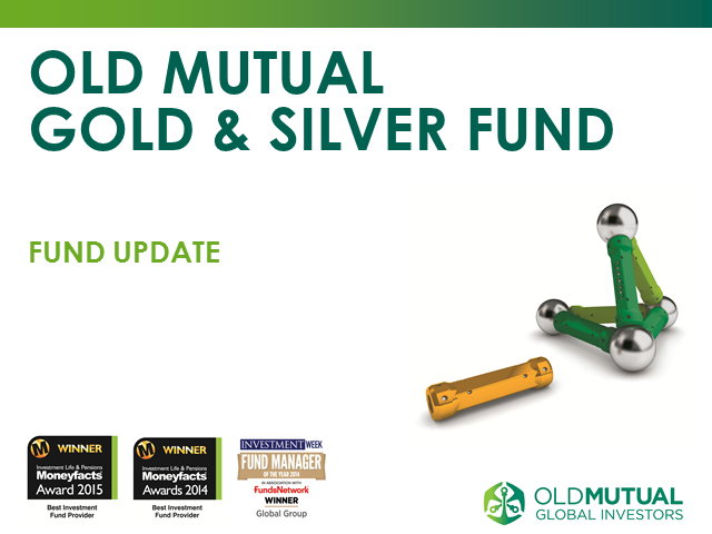 Old Mutual Gold & Silver Fund webcast with fund manager Ned Naylor-Leyland