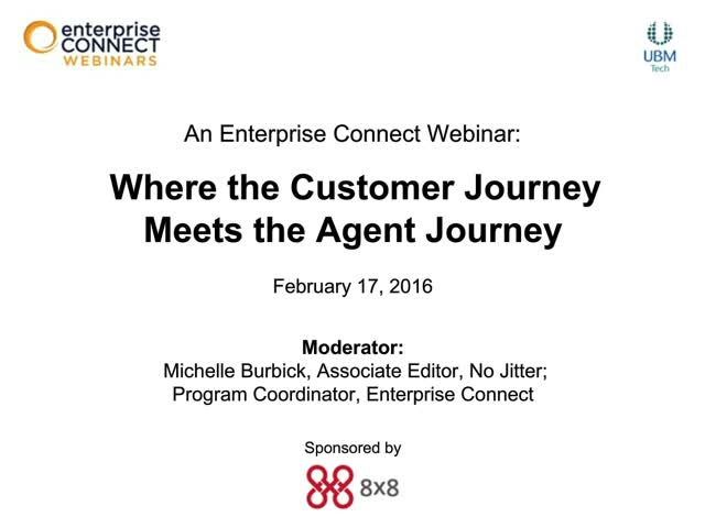 Where the Customer Journey Meets the Agent Journey