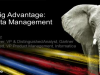 Transform Big Data Management into a Big Advantage