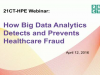 Case study: Hear how Big Data Analytics is used to detect healthcare fraud