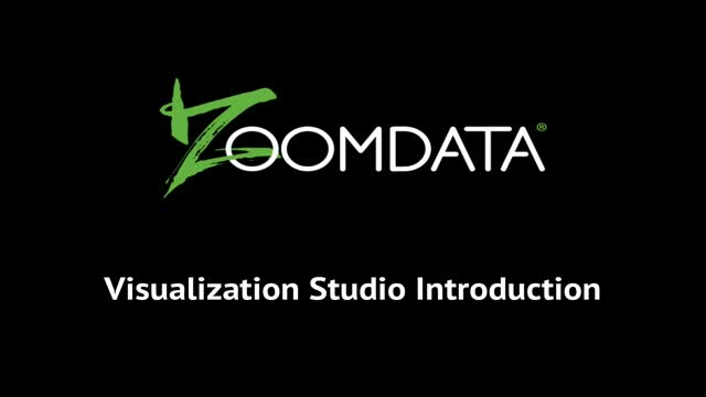 Zoomdata Technology: Introduction to Visualization Studio