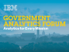 IBM Government Analytics Forum Livestream