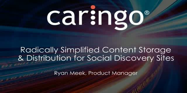 Radically Simplified Content Storage & Distribution for Social Discovery Sites