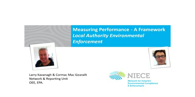 Local Authority Performance Assessment Framework