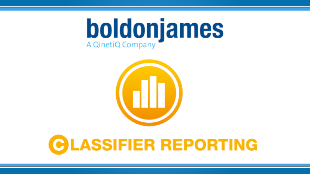 Boldon James | How to Report on your Classification Policy