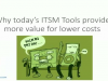 Why today's ITSM Tools provide more value for lower costs