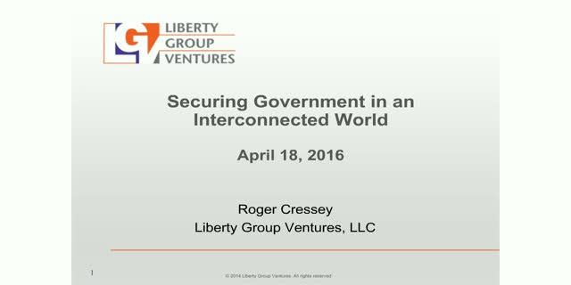 Securing Government in an Interconnected World