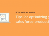 Tips for optimizing your sales force productivity