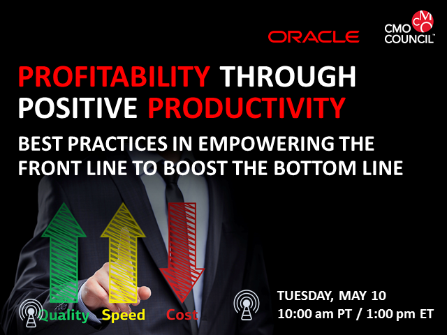 Profitability Through Positive Productivity