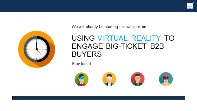 Using virtual reality to engage big-ticket B2B buyers