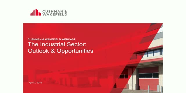 The Industrial Sector: Outlook & Opportunities