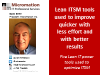 Five Lean IT power tools used to optimize ITSM