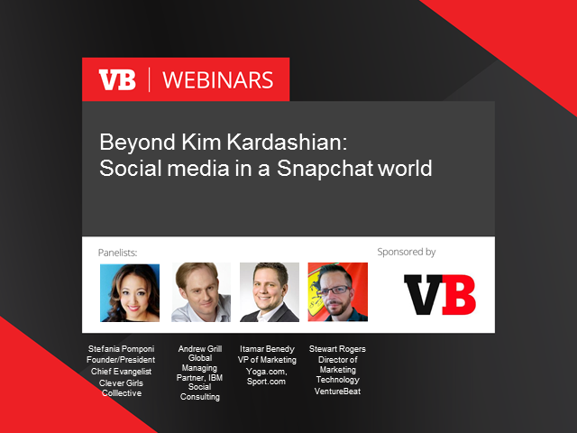 Beyond Kim Kardashian: Social media in a Snapchat world