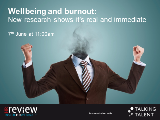 Wellbeing and burnout: New research shows it's real and immediate.