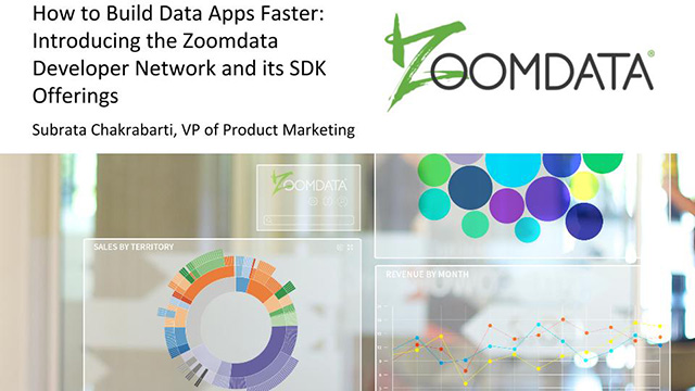 How to Build Data Apps Faster: Introducing the Zoomdata Developer Network