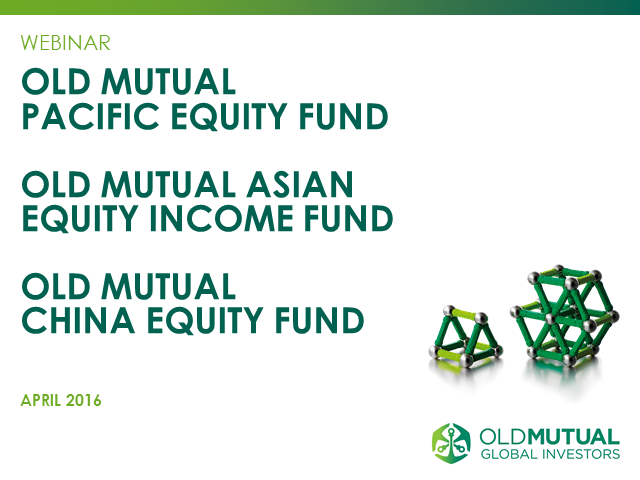 Old Mutual Asian Equities desk update - Q1 2016