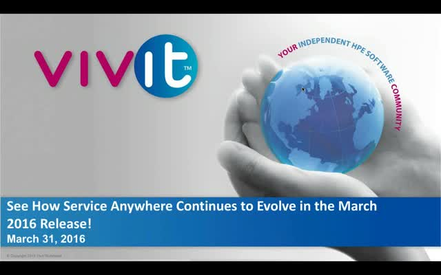 See how Service Anywhere continues to evolve in the March 2016 Release!