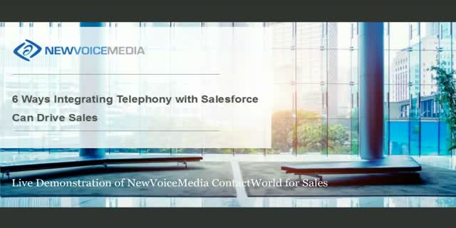 6 Ways Integrating Telephony with Salesforce Can Drive Sales