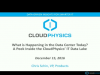 What's Happening in the Data Center? A Peek Inside CloudPhysics' Global Data Set