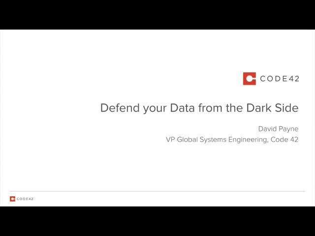 Defend Your Data from the Dark Side