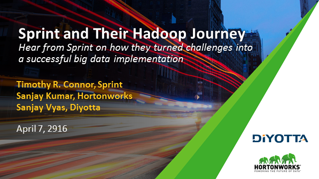 How Sprint Turned Challenges Into a Successful Big Data Implementation