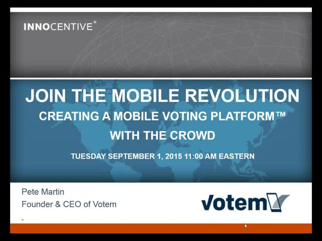 Join the Mobile Voting Revolution | Featuring Votem CEO & Founder Pete Martin