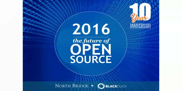 Future of Open Source Survey 2016 Results