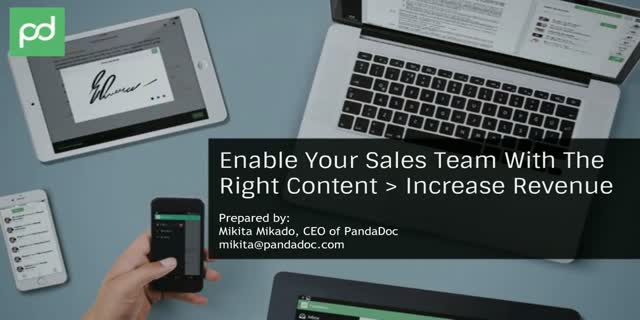 Enable Your Sales Team with the Right Content To Increase Revenue