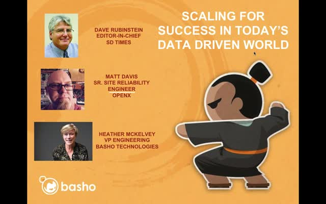 On-Demand Webinar: Scaling for Success in Today's Data Driven World
