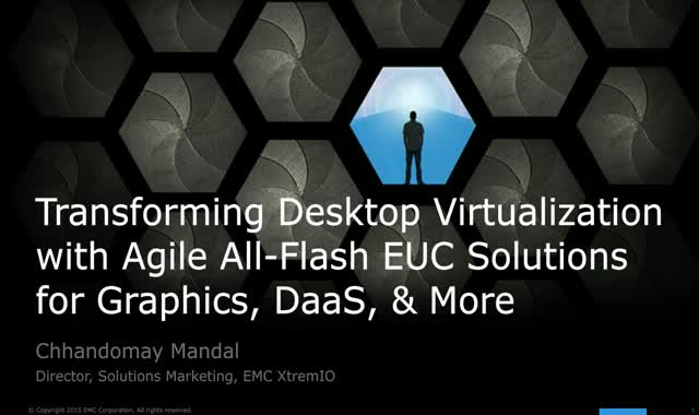 Transforming Desktop Virtualization with Agile All-Flash EUC Solutions