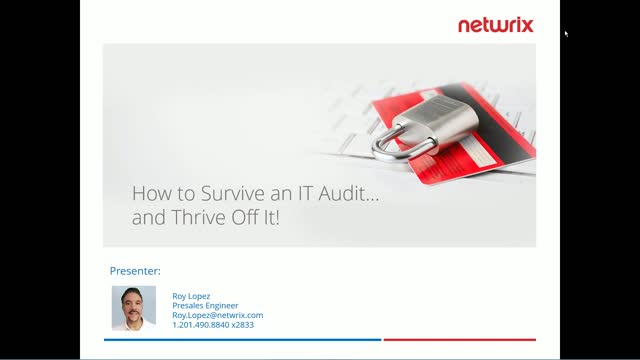 How to Survive an IT Audit… and Thrive Off It!