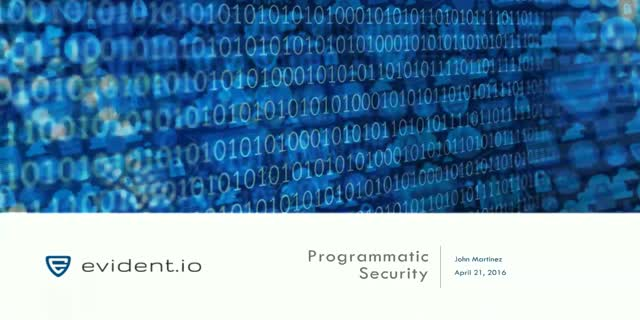 Programmatic Security Automation for AWS