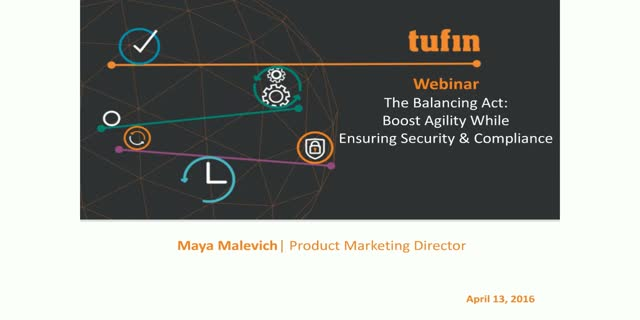 The Balancing Act – Boost Agility While Ensuring Security & Compliance