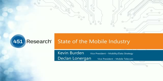 Mobile Services – State of the Market